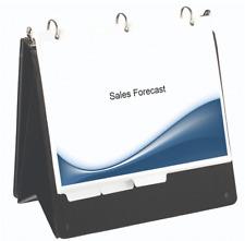 Flip Chart Easel Binder Landscape Horizontal 2 Three Ring New Letter Size