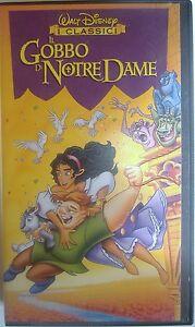 VHS-WALT-DISNEY-IL-GOBBO-DI-NOTRE-DAME