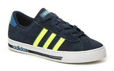 adidas NEO Lids Daily Team Sneaker Collegiate Navy/Solar Yellow/Core Blue BC0156 | eBay
