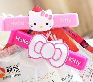 Hellokitty Food Snack Bag Storage Sealing Clips Seal Clamp