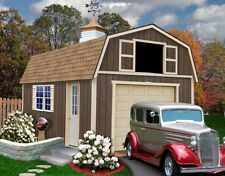 Best Barns 12' x 20' Tahoe Wood Shed Kit