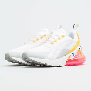 Details about Womens Nike Air Max 270 SE AR0499 101 WhiteSummit White NEW Size 5.5
