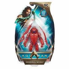 """Aquaman Mera Orm Black Manta General Murk 6"""" Action Figures Set of 5 DC Mattel"""