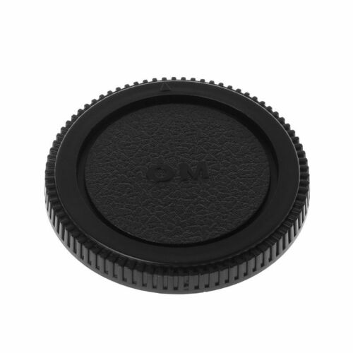 Rear Lens Body Cap Cover Camera Mount Protection Plastic Black for Olympus OM