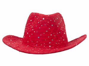 Glitter-Sequin-Trim-Cowboy-Hat