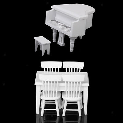 1:12 Dolls House Removable Musical Instrument Piano Microphone With Holder