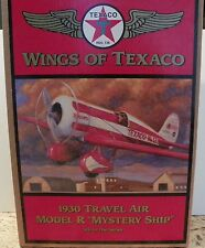 """Wings of Texaco 1930 Travel Air Model R """"Mystery Ship"""" 5th in the Series"""