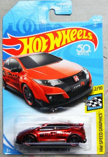 Hot Wheels /'16 Honda Civic Type R Custom