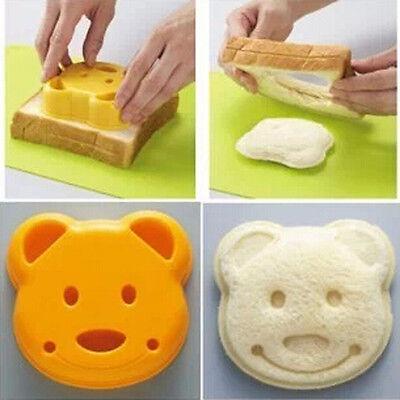 Bear POP UP Toast Bread Food Sandwich Stamp Mold Cutter Maker Bento Accessories