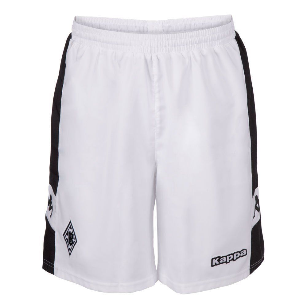 Kappa Mens Borussia Monchengladbach BMG Football Home Shorts 2017 2018 White Bla