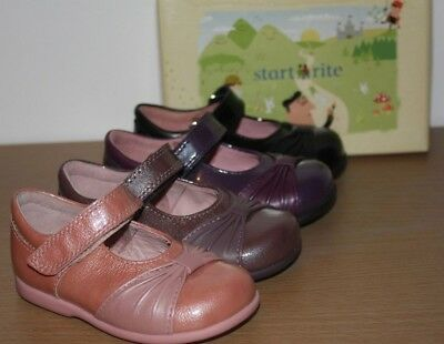Start-rite Infant Boys Badge Brown Leather Shoes Various sizes BNIB
