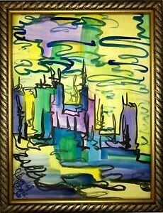 Margarita-Bonke-Malerei-A3-PAINTING-art-abstrakt-Landschaft-landscape-abstract