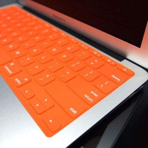 """SL ORANGE Silicone Keyboard Cover for Macbook Air 11/"""""""