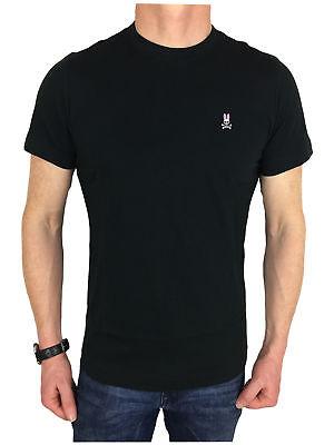 Mens Psycho Bunny Short  Sleeve Logo Branded T-Shirt In Navy
