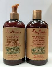 Shea Moisture Manuka Honey &Mafura Oil Intensive Hydration Shampoo & Conditioner