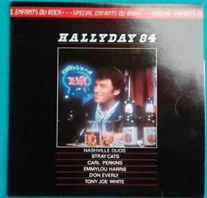 Scheibe-Vinyl-33-Time-Johnny-Hallyday-84
