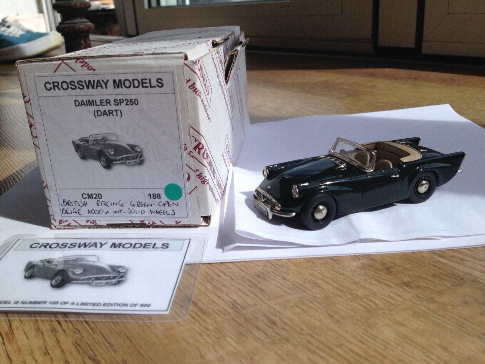 Crossways Models Damiler Dart SP250 British Racing Green