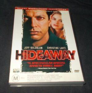 HIDEAWAY-DVD-REGION-4-VGC-JEFF-GOLDBLUM-CHRISTINE-LAHTI-ALICIA-SILVERSTONE