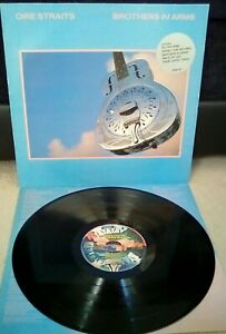 Dire-Straits-Brothers-In-Arms-Vinyl-12-034-LP-Inner-Vertigo-VERH-25-1985