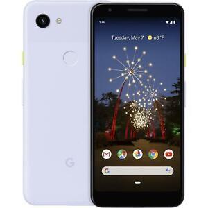 NEW PURPLISH UNLOCKED 64GB GOOGLE PIXEL 3A SMART PHONE KF74