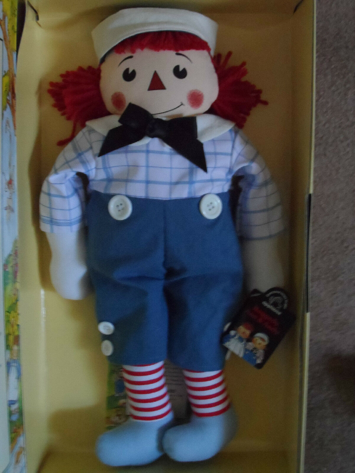 MIB Raggedy Andy Storybook Doll 1997, 16  Limited Edition - 3285 7500 Applause
