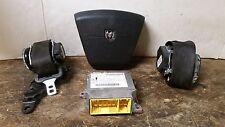 09 10 Dodge Journey Air Bag Set Wheel Belts Module OEM Black