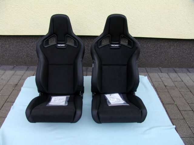 Recaro Sportster Cs Heating Artificial Leather Black Dinamica Black Side Left For Sale Online Ebay