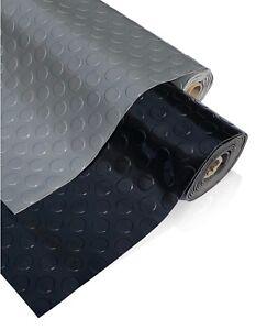 PVC Flooring Garage Sheeting Matting Rolls 1M Wide, No smell as Rubber Flooring