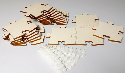 paint Heart-Nose set 20 parts Blank Puzzle Infinity pieces of wood