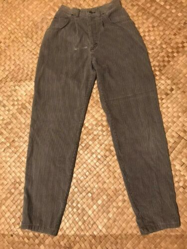 Vintage 60s/70s Lee Riders hickory stripe high wai