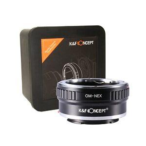 K-amp-F-Concept-Olympus-OM-NEX-Adapter-OM-Zuiko-Lens-to-Sony-E-OM-Sony-A7-KF06-072