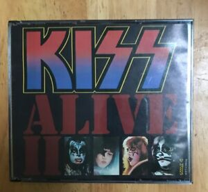 KISS-Alive-2-2-CD-Set-Rare-US-BMG-Music-Club-Issue-No-UPC-see-Pics-One-Booklet