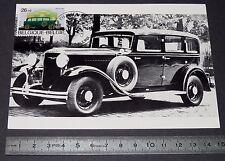 CARTE POSTALE 1er JOUR PHILATELIE 1986 AUTO FN 8 CYLINDRE 1931 BELGIQUE VOITURE