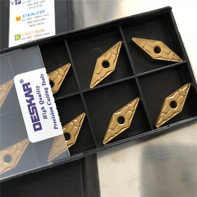 NEW deskar VNMG160412-TM LF9011 VNMG333-TM 35° milling carbide inserts for steel