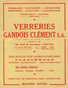 Buvard-Vintage-Verreries-Gandois-Clement-S-A-BIG-Buvard