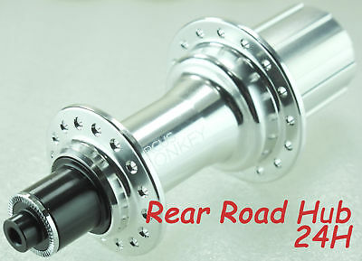 Circus Monkey HRW1 Road Rear Hub 28 Hole 240g Shimano 11 Speed Silver