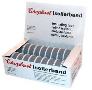 Isolierband Coroplast Box Vde Isoband Klebeband Elektriker Band Grau