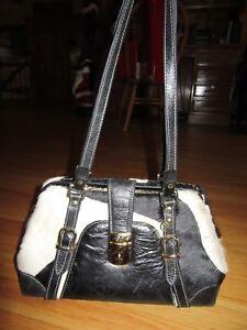 9y Selten Leder White Black Haar Schlᄄᄍssel Handtasche Paolo S0nqHr8gwS