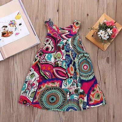 NEW Toddler Baby Flower Girls Princess Dress Wedding Party Kids Tulle Tutu Dress