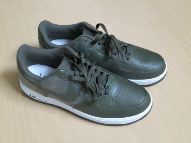 pretty nice 94ad9 181c8 NIKE Air Force 1 Low  07 LV8 Camo Green  488298 300 Men s Size 11.5