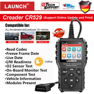 sainchargny.com Launch X431 CR319 Profi OBD2 Diagnosegert Auto ...