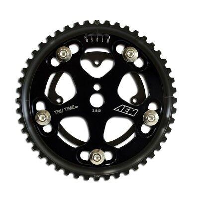 D16A6 /& D16Z6 Black AEM 23-800BK Tru-Time Adjustable Cam Gear For Honda D15B7