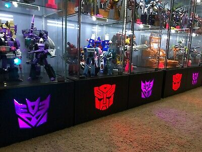 Custom Light Up Detolf Display Base for Transformers Masterpiece G1 Collections