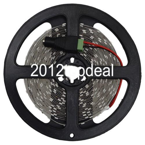 Dimmer Controller 5M White 5630 LED Strip Flexible Light 5A 12V Power Adapter
