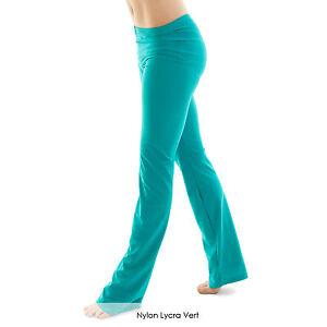Ladies-Nylon-Lycra-Dance-Gear-Jazz-Pants