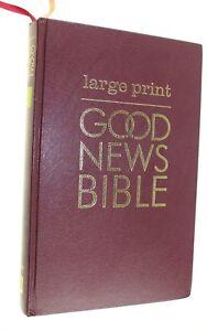 LARGE-PRINT-GOOD-NEW-BIBLE-USED-GOOD-OVERALL-CONDITION-ENGLISH