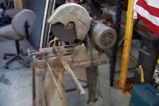 Doall 10 Abrasive Metal Chop Saw 3hp 220v 3 Phase Baldor Motor