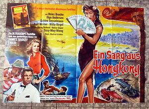 EIN-SARG-AUS-HONGKONG-Heinz-Drache-A0-FILMPOSTER-XXL-Ger-2-Sheet-64-EUROSPY