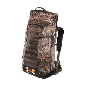 6ac9f2eda1 Image is loading Under-Armour-Multiday-Hunt-Pack-Backpack-Mossy-Oak-