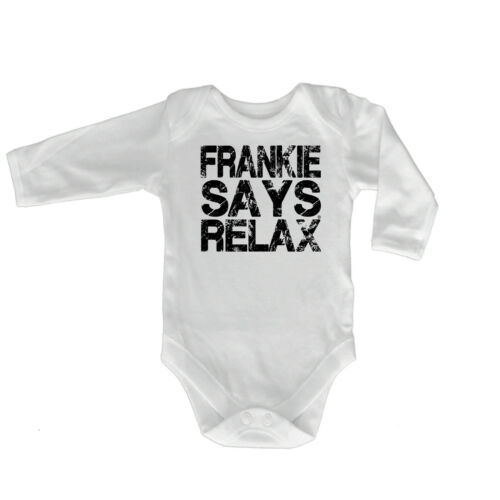 FUNNY BABY Infants Babygrow ange combinaison-Frankie Says Relax détresse